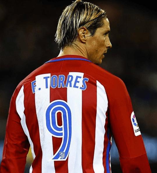 Fernando torres corte de pelo 2017
