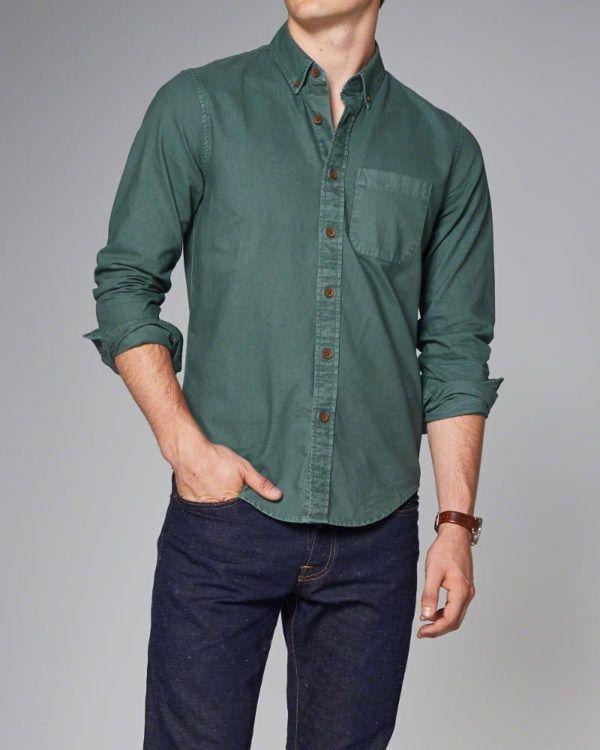 catalogo-abercrombie-otono-invierno-2016-2017-tendencias-moda-hombre-camisa-oxford