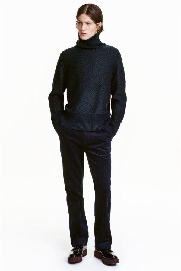 catalogo-hm-otono-invierno-2016-2017-tendencias-moda-hombre-jersey-cuello-vuelto
