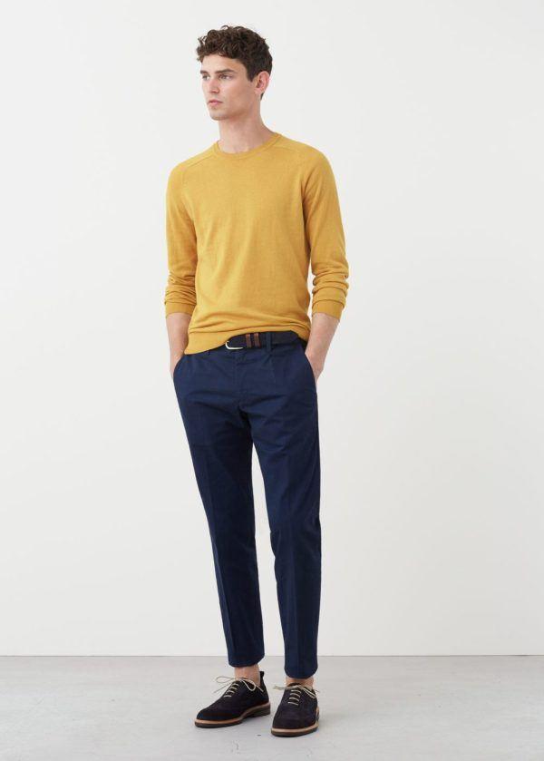 Tendencias-Pantalones-y-Jeans-Hombre-Otoño-Invierno-2016-2017-chinos-azules