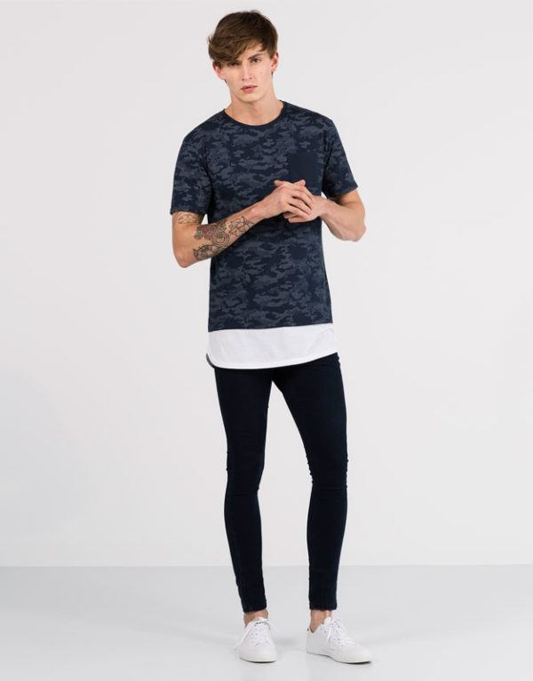 c4637ca760f72 camisetas hombre pull and bear