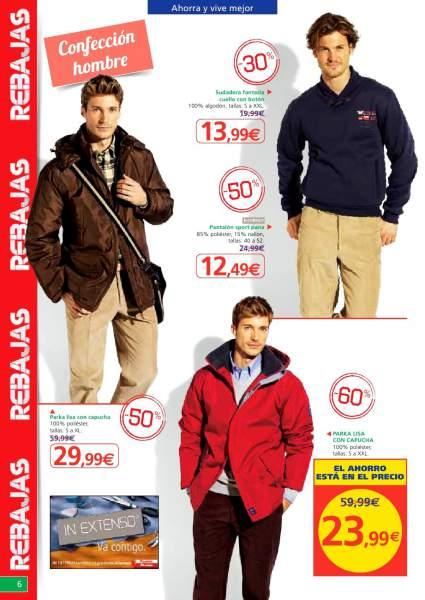 catalogo-rebajas-alcampo-pijama-chaquetas-pantalones