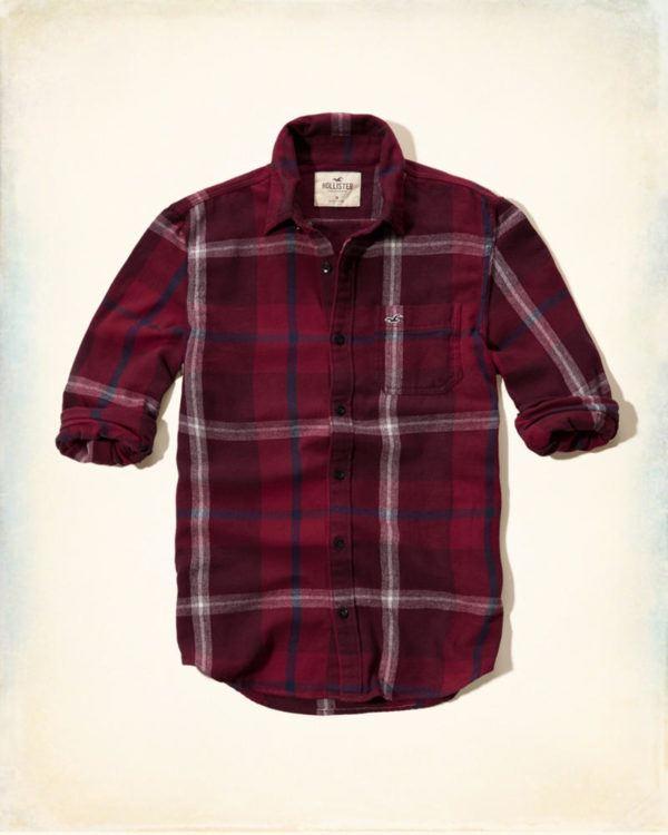 catalogo-hollister-otono-invierno-2016-2017-tendencias-moda-hombre-camisa-franela