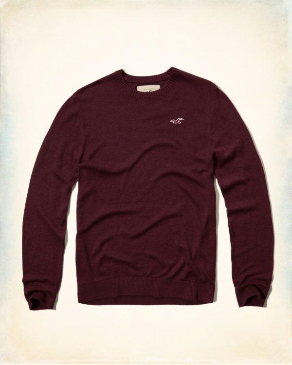 catalogo-hollister-otono-invierno-2016-2017-tendencias-moda-hombre-jersey-cuello-redondo