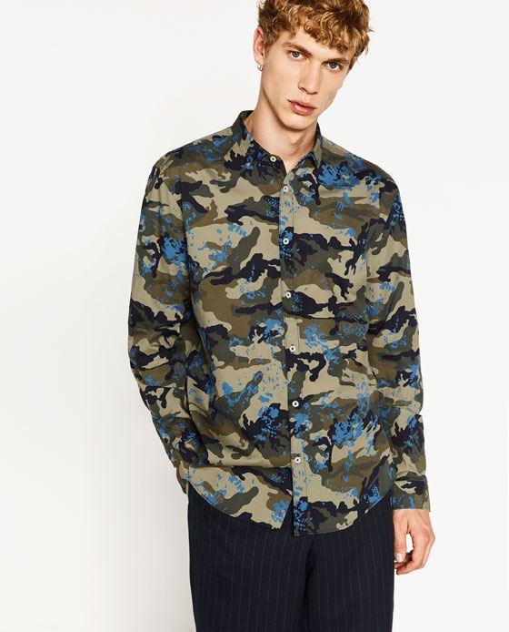 Moda-Hombre-Otoño-Invierno-2016-2017-CAMISAS-camuflaje