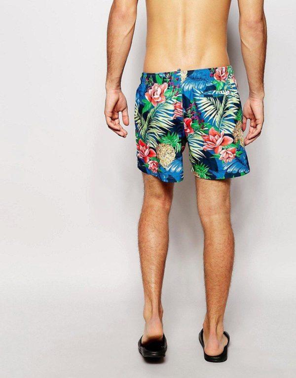 moda-hombre-2014-bañador-floreado