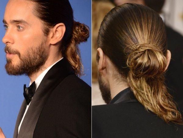 Peinados elegantes para cabello largo hombres