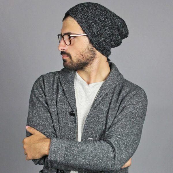 194507a06446 Cómo llevar gorros beanie para chicos 2019 - Modaellos.com