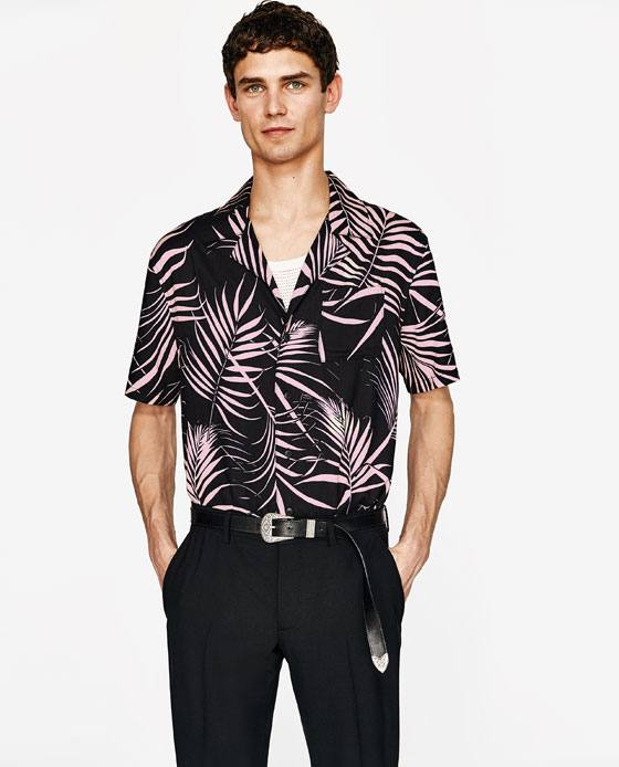 Camisa de lunares Blusa de gasa de verano de 2019 Tops