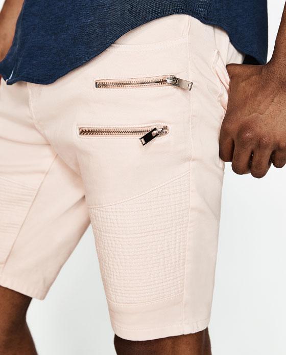 pantalones cortos hombre 2017 zara