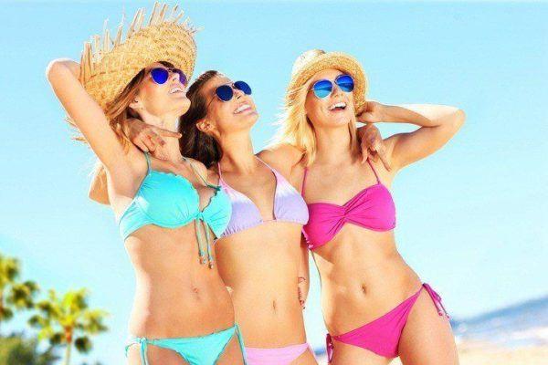 Rebajas de verano decathlon banadores para mujer bikinis