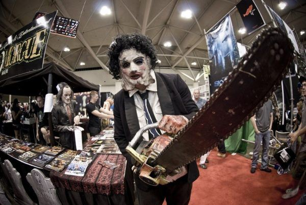 Disfraz de Leatherface para halloween sencillo y original