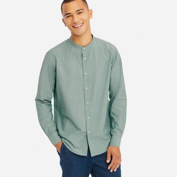 25045c2305f Cerramos el repaso a las camisas del catálogo Uniqlo de verano 2019 con  esta camisa de cuadros de manga larga. Modelo básico pero socorrido que  tiene en su ...
