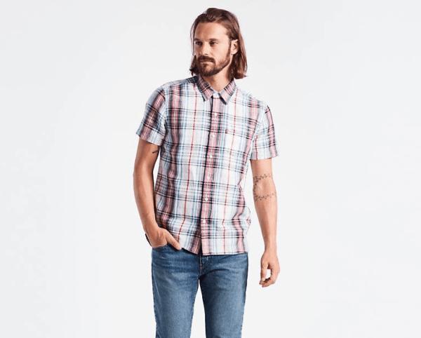 2586af14cd A medio camino entre la tradición y la actualidad aparece la camisa Short  Sleeve Modern Barstow Shirt. Una camisa denim que cambia los broches por  botones y ...