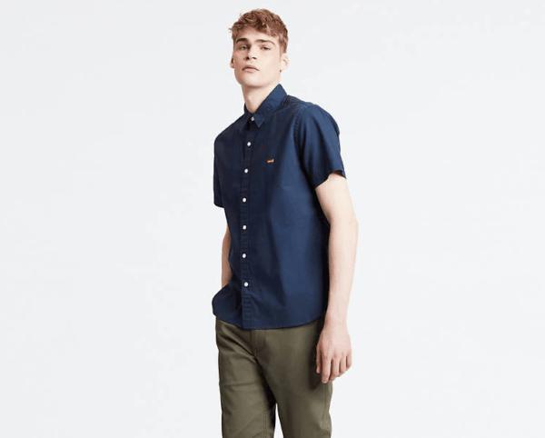 d425440a55 Lógico que quieras hacerte con esta camisa de mangar corta modelo Battery  Housemark Shirt. Sin rebajas está a 49 euros pero con descuento