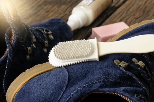 Entretien des chaussures en daim