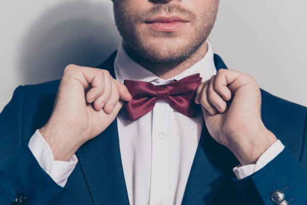 Pajarita o corbata