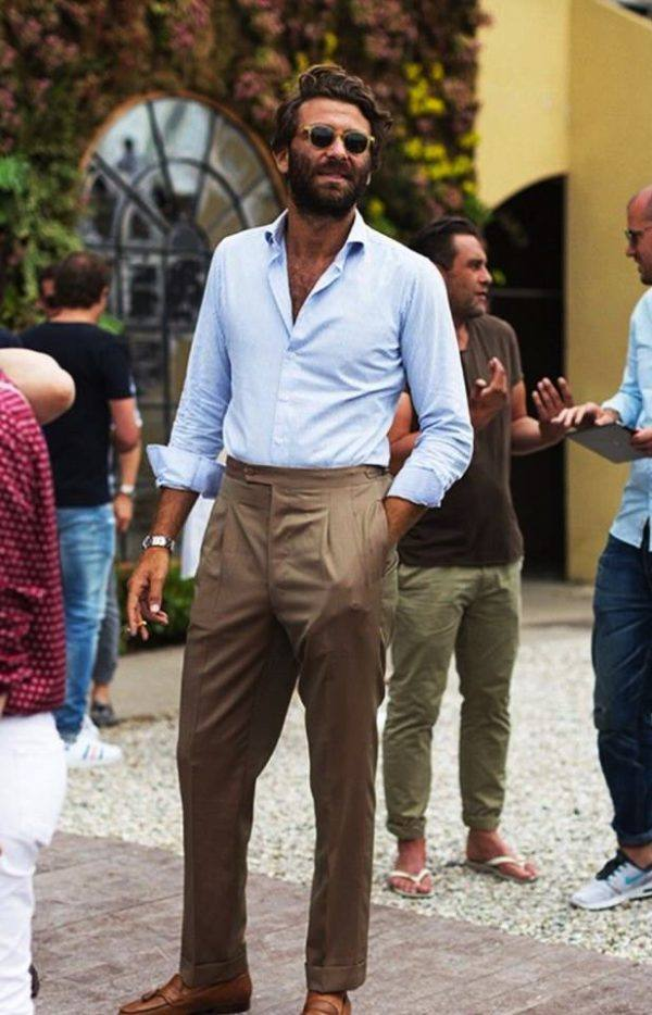 Tendencias en moda para hombres 2020