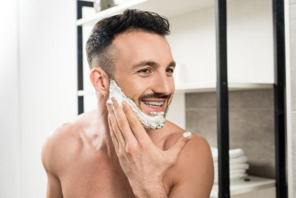 Receta de gel de afeitar casero