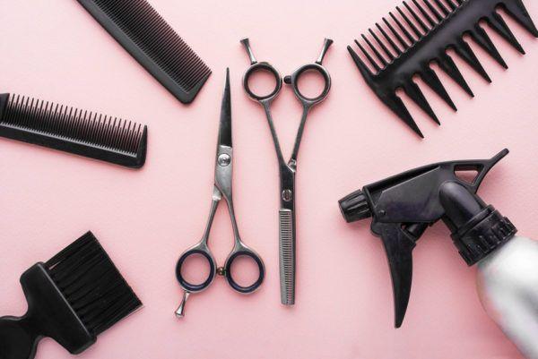 Herramientas necesarias para cortarse el pelo