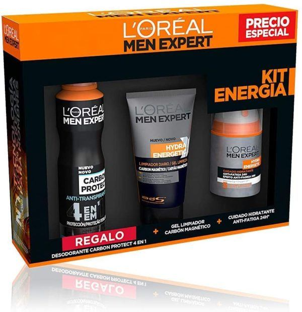 L'Oréal Paris Men Expert Hydra Energetic Kit de Energía