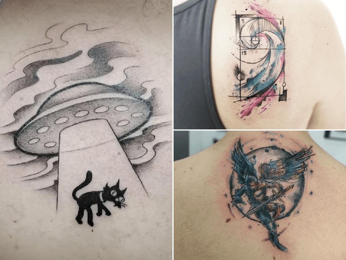 Los Mejores Tatuajes Pequeños Para Hombres En La Espalda Modaellos Com