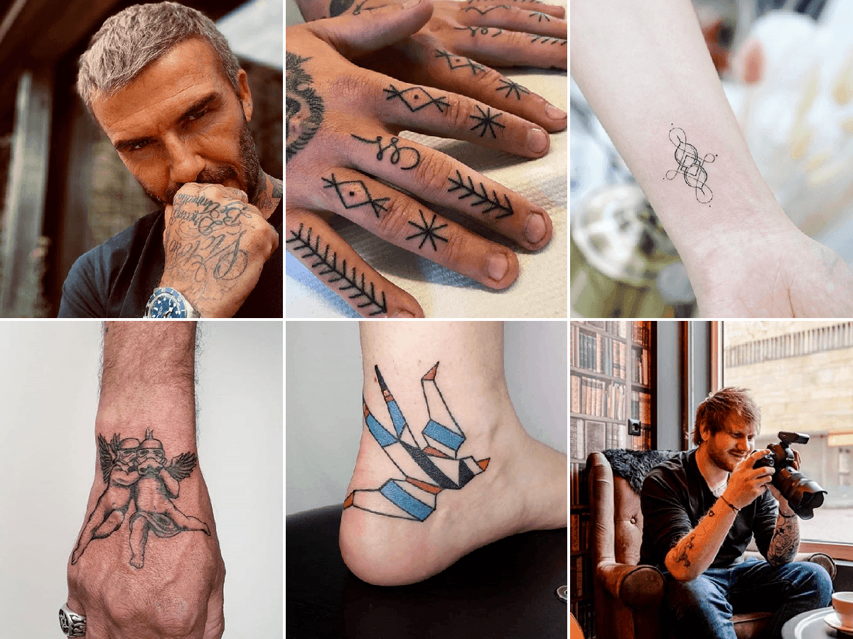 Los mejores tatuajes pequeños para hombres 2020 - Modaellos.com