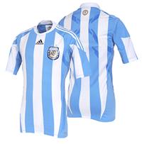 camiseta oficial argentina mundial 2010-2